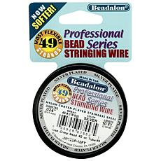 Stringing Wire 49-Strand .024 Diameter 10ft/Spool