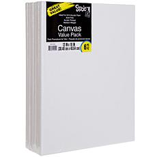 """Studio 71 Stretched Canvas 6-pack  - 12"""" x 16"""""""