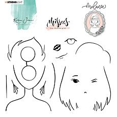 Studio Light Karin Joan Clear Stamp Melanie Missees Collection No. 05