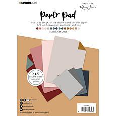 Studio Light Karin Joan Paper Pad Pattern Paper Terramore Basics N. 05