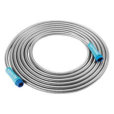 Sun Joe® 25' 0.5-inch Heavy-Duty Spiral Stainless Steel Garden Hose