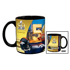 Super Bowl 50 Champs 11 oz. Ceramic Black Mug 2-pack