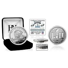 Super Bowl LII Champions Pure Silver Mint Coin - Philadelphia Eagles