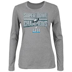 Super Bowl LII Champions Women's Sudden Impact Long-Sleeve Tee