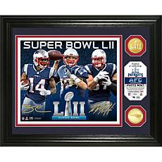 Super Bowl LII New England Patriots Team Force Bronze Coin Photo Mint
