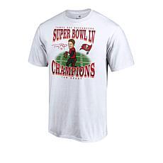 Super Bowl LV Champions Short-Sleeve Caricature Tee by Fanatics