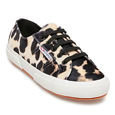 Superga Leopard-Print Lace-Up Sneaker