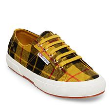 Superga Plaid Lace-Up Sneaker