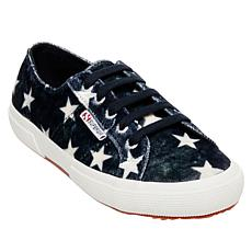 Superga Velvet Stars Low-Top Sneaker