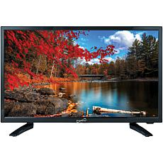 """Supersonic 24"""" 1080p LED HDTV, AC/DC Compatible with RV/Boat"""