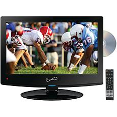 """Supersonic SC-1512 15.6"""" 720p LED TV DVD Combination AC/DC for RV/Boat"""