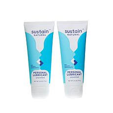 Sustain Natural® Personal Lubricant 2pk - Unscented