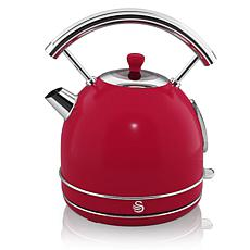 Swan Retro Dome Kettle 1.7 L - Red