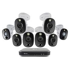Swann 4K Surveillance System Kit w/8-Channel 2TB DVR & 8 Cameras