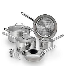 T-Fal E760SC84 Performa Stainless Steel 12-Piece Set