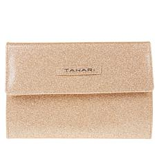 Tahari Tri-Fold Jewelry Travel Wallet - Champagne Color