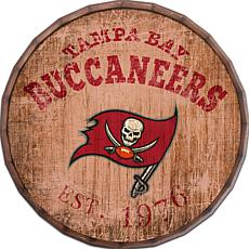 "Tampa Bay Buccaneers Established Date 24"" Barrel Top"