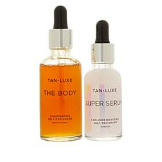 Tan-Luxe Medium/Dark The Body & Super Serum Drops