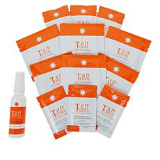 TanTowel® Classic Self-Tanning Kit with Tanning Mist Auto-Ship