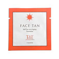 TanTowel® Face Tan Self-Tanning Towelette - Single