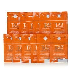 TanTowel® Half Body Dark Self Tan Towelette 12-pack AS