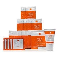 TanTowel® Plus 22-piece Kit with On the Glow Face Moisturizer