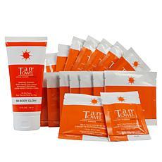TanTowel® Plus Self Tanning Kit with Body Glow BB Cream