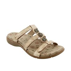 Taos Footwear Prize 2 Leather Slide Sandal