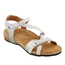 a310ac186ed Taos Footwear Ziggie Leather Adjustable Sandal