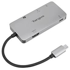Targus USB-C Multi-Port Video Adapter and Card Reader w/Power Delivery
