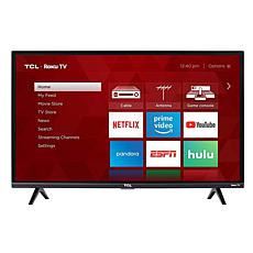 """TCL 3-Series 32"""" Full HD Roku Smart TV with HDMI Cable"""