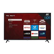 "TCL 4-Series 75"" 4K Ultra HD Roku Smart TV w/HDMI Cable- 2-yr warranty"