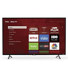 "TCL 49"" 4K Roku Smart TV with 2-Year Warranty"