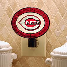 Team Glass Nightlight - Cincinnati Reds