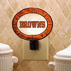 Team Glass Nightlight - Cleveland Browns