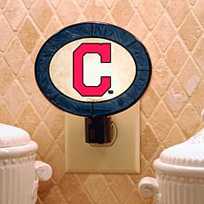 Team Glass Nightlight - Cleveland Indians