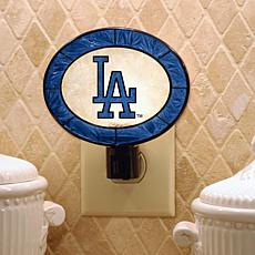 Team Glass Nightlight - Los Angeles Dodgers