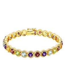 Technibond® Multi-Gemstone Line Bracelet