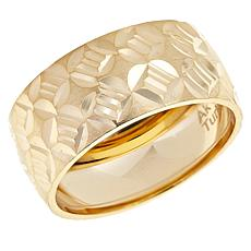 "Technibond® ""Ribbon"" Band Ring"