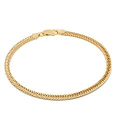 "Technibond® Two-Sided Foxtail Chain 8"" Bracelet"