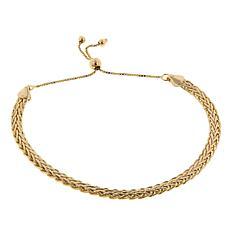 Technibond® Wheat Chain Adjustable Bracelet