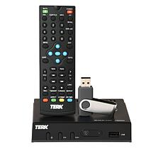 Terk Digital TV Converter Box w/DVR Recording & 64GB USB Drive Bundle