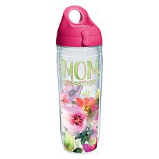 Tervis Mom Watercolor Floral 24 oz. Water Bottle with L
