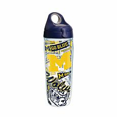 Tervis NCAA All-Over 24 oz. Water Bottle with Lid - Mic