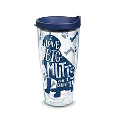 Tervis Project Paws I Love Big Mutts and I Cannot Lie 24 oz Tumbler...