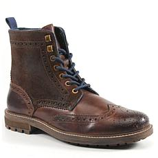 Testosterone Shoes Cash In Men's Leather Lace-Up Boot