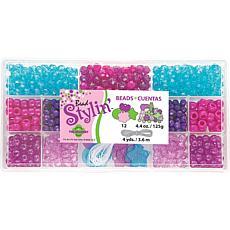 The Beadery Bead Stylin' Bead Box Kit 4.4oz - Berry Brights