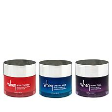 The Beauty Spy 3-piece Cream Mask Set