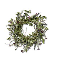 "The Gerson Company 24""D Lavender Herbs Wreath"
