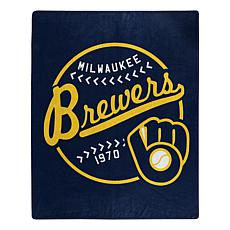 The Northwest Company Officially Licensed MLB Brewers Moonshot Throw